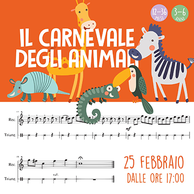Evento carnevale degli animali